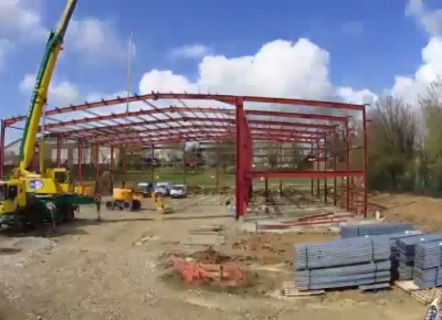 Sports Hall Time Lapse 2016