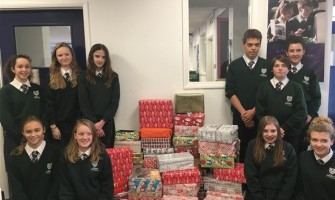Y9 Shoebox Appeal for Farnham Herald