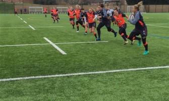 England Womens Rugby Team Train at Weydon School
