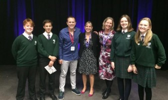 Chris Jarvis visits Weydon School