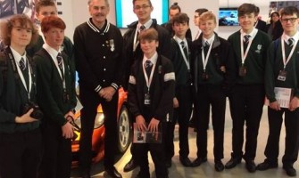 Weydon School Students Learn about Car Design