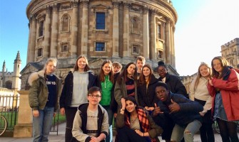 Weydon Language Students Enjoy A Taster Day at St. Hilda's College, Oxford