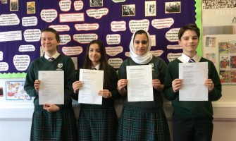 Weydon School History Students Commemorate Holocaust Memorial Day