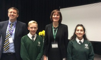 National Crime Agency Director General Visits Weydon School