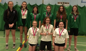 Weydon School U15 Girls Cricket County Champions