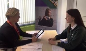 Weydon School Hold Mock Interviews for the Year 11 Students