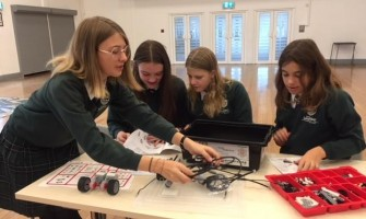 Weydon School Students Involved in the MOD STEM Disaster Relief Project