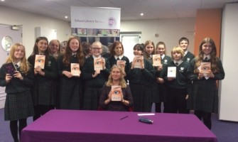 Weydon School Students Meet Winning Author