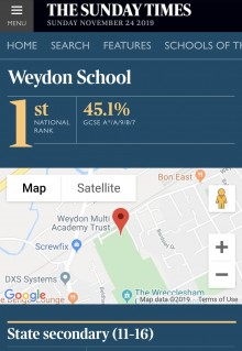Weydon ranked No. 1 (2)