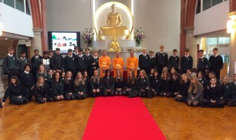 Year 11 Trip to Visit a Buddhist Temple