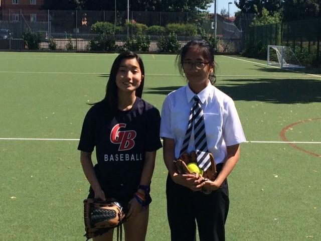 Laura Hirai and Yael Gambong