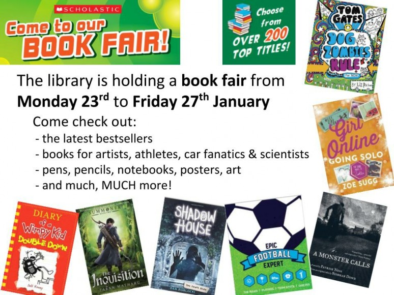 Book Fair Jan 2017 1