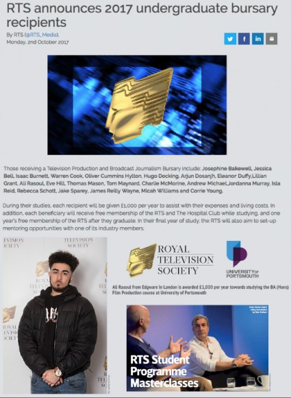 Ali Rasoul Film Studies