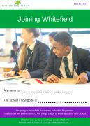 Primary Transition Booklet Front Page