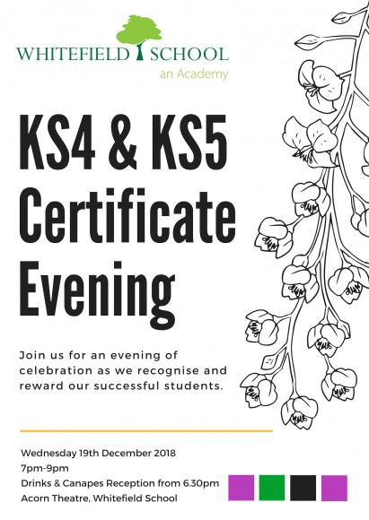 KS4 & KS5 Certificate Evening 2018 (1)