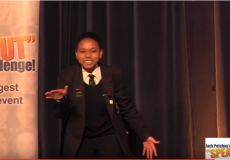 Sebentile Mabuza Winner of JP Speak ...
