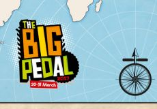 The Big Pedal in March