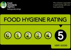 Top Marks in Food Hygiene