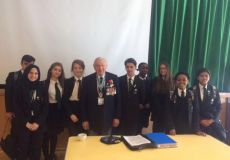 WW2 Veteran visits Whitefield