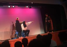 Theatrics at Whitefield
