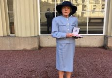 Ms Beatty recieves her MBE