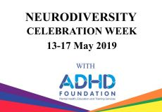 Neurodiversity Week 13-17 May