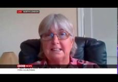 Mrs Rymer on BBC News