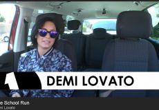 Demi Lovato at Whitefield School