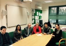 MP Mike Freer visits Whitefield