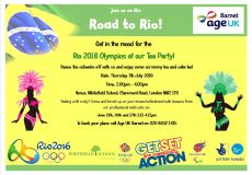 BARNET AGE UK - Road to Rio Tea Part...