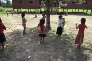 hula hoop at Kiri Bah Ler