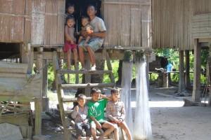 Typical house at Kiri Bah Ler web