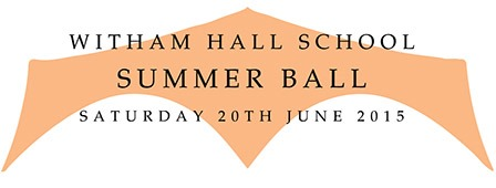 Witham Hall Summer Ball logo 2015