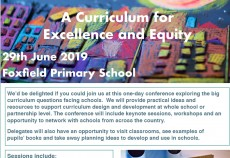 A Curriculum for Excellence and Equity Conference