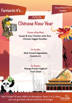 Chinese New year Menu