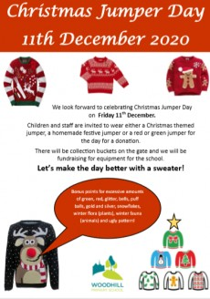 Christmas Jumper Day 11th December 2020