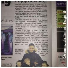 Woodhill make the headlines!