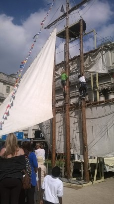 KS1 visits Royal Greenwich Tall Ships Festival