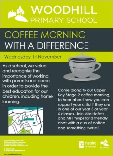 Year 5/6 Home Support Coffee Morning
