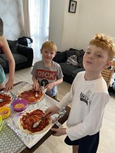 Viney Family Pizza