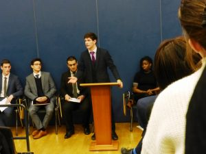 Head Boy hustings 2016