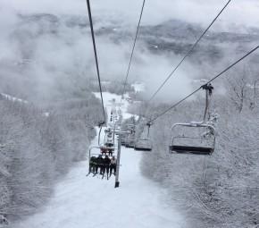 Ski Trip to Sunday River, Maine USA