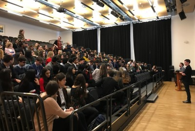Year 12 Service and Leadership Session Brexit Debate