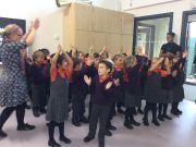 Primary Harvest Festival singing