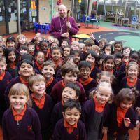 Bishop Rob and children