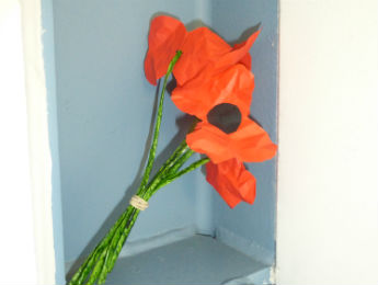 Poppies for Remembrance Day