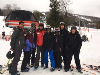 Ski Trip to Sunday River, Maine USA